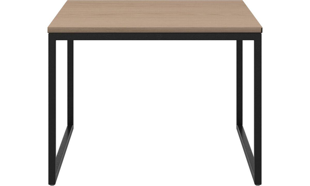 Tables basses - table basse Lugo - carré - Marron - Chêne