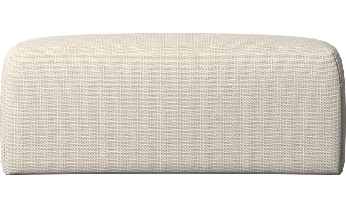 Furniture accessories - Atlanta back cushion - White - Fabric
