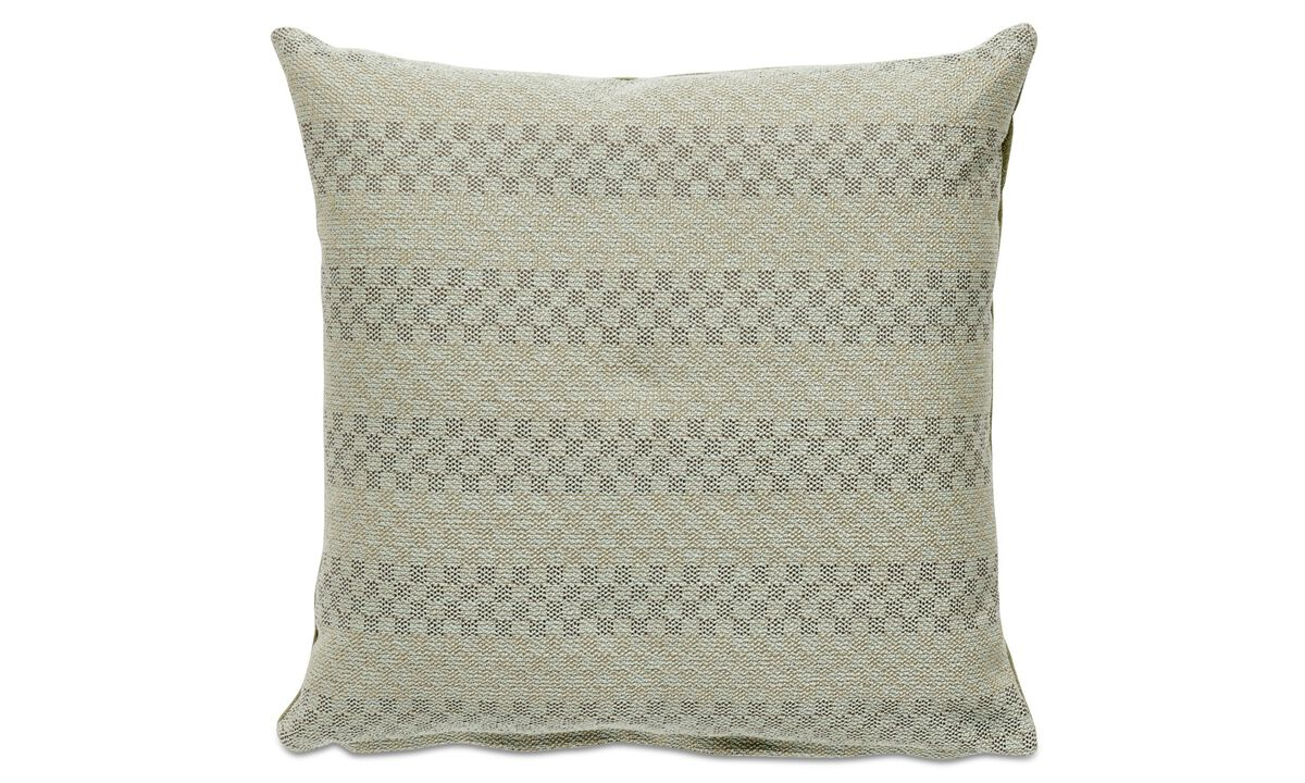 Patterned cushions - Sole cushion - Green - Fabric