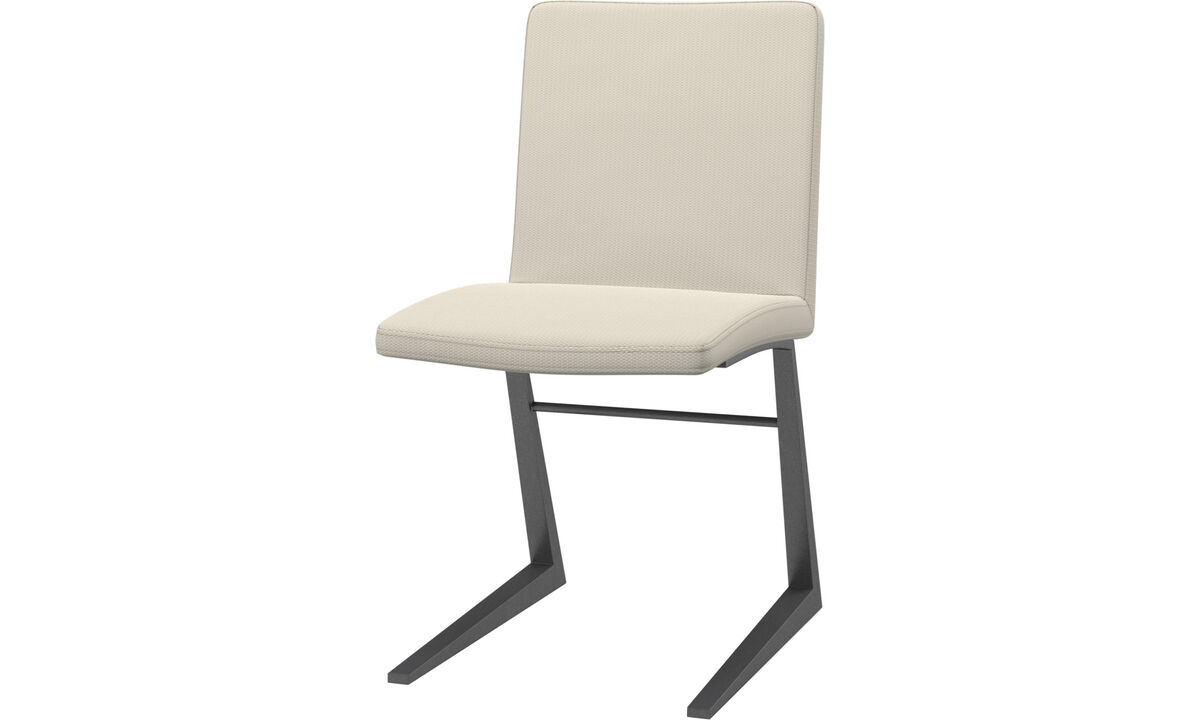 Dining chairs - Mariposa Deluxe chair - White - Fabric