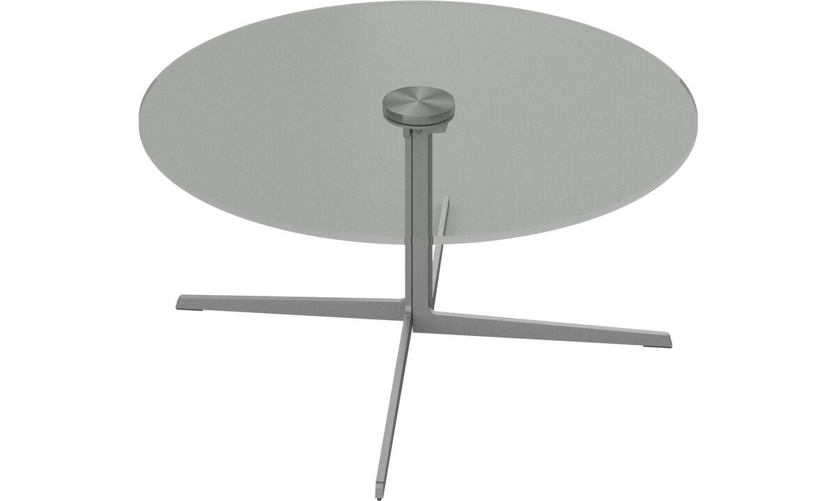 Mesas de centro - mesa de centro Sevilla - redondo - Cristal - Cristal