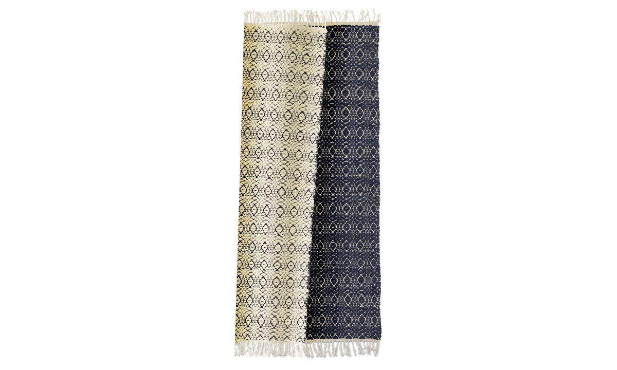 Rectangular rugs - Tappeto Arte - guida - Blu - Tessuto