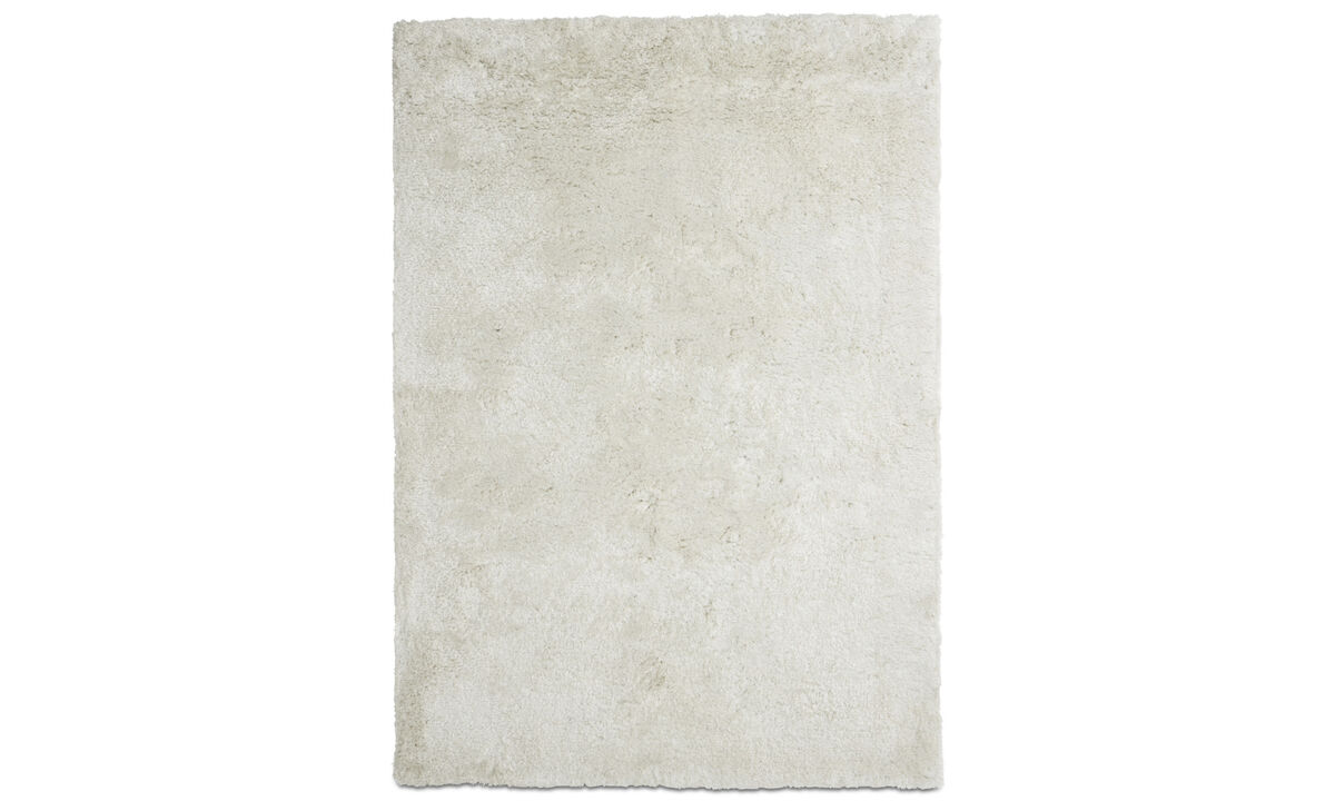 Tapis rectangulaires - Tapis Movement - rectangulaire - Blanc - Polyester