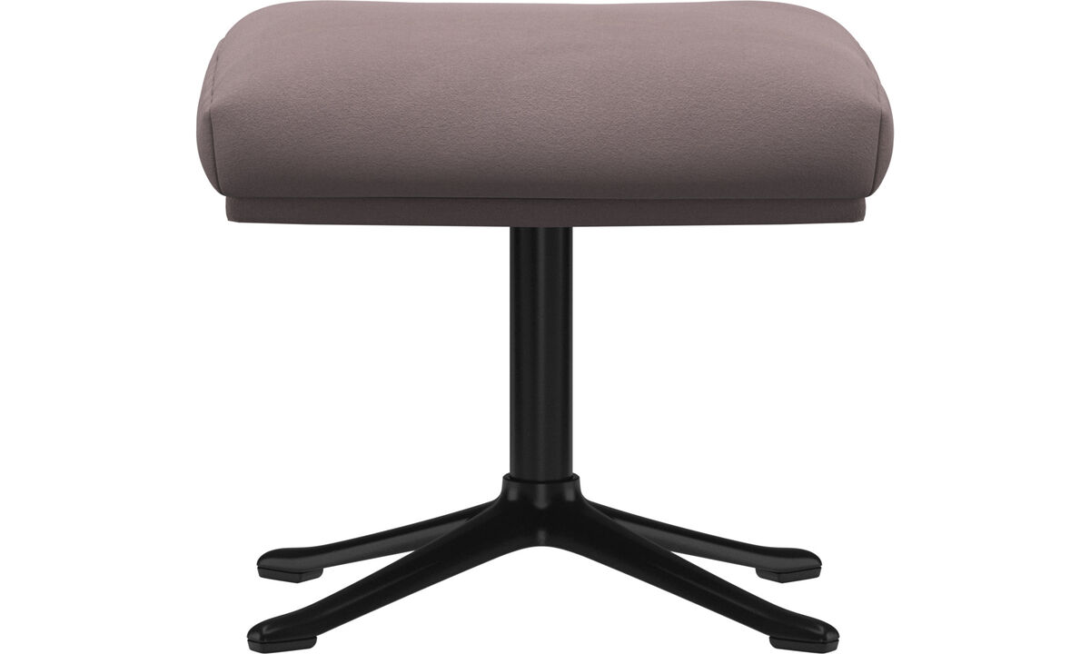 Footstools - Reno footstool - Purple - Fabric
