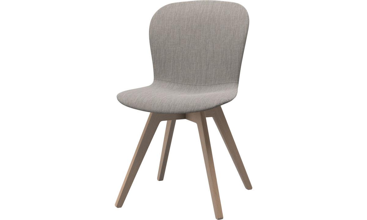 Esszimmerstühle - Adelaide Stuhl - Grau - Stoff