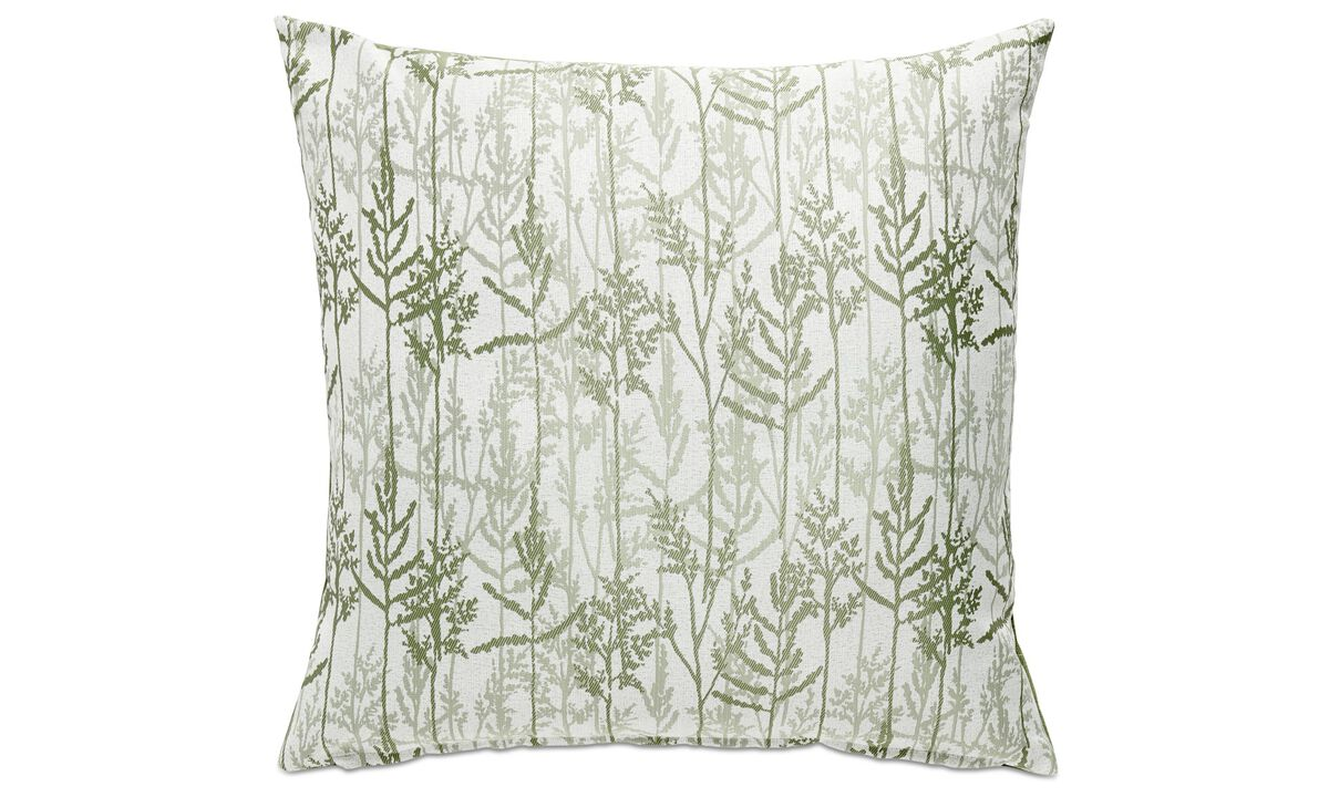 Patterned cushions - Garden cushion - Green - Fabric