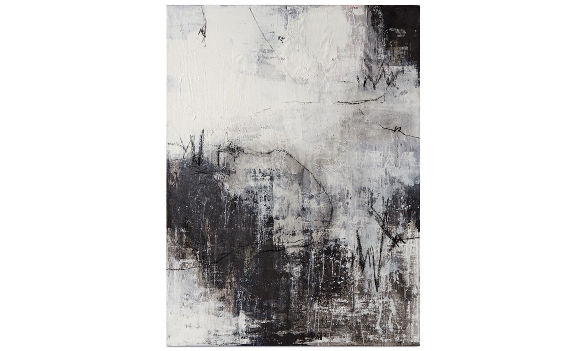 Gallery - Autumn painting - Gray - Wood