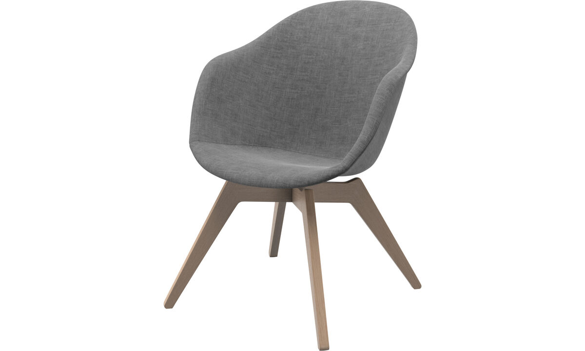 Fauteuils - chaise Adelaide Lounge - Gris - Tissu
