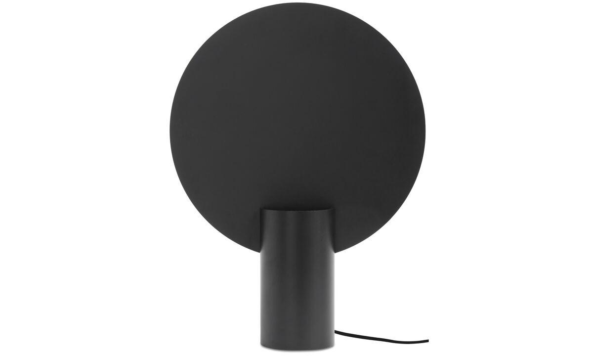 Table lamps - Lampada da tavolo Rise - Nero - Metallo