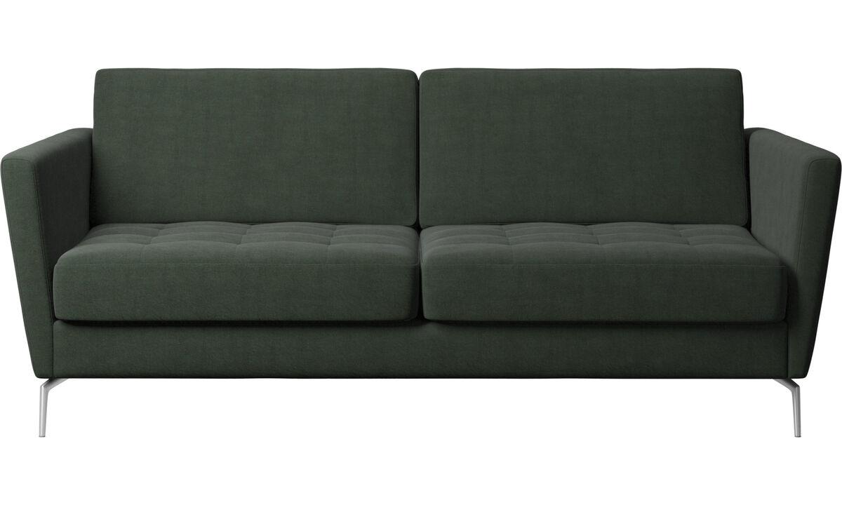 Sofa beds - Osaka divano letto, seduta trapuntata - Verde - Tessuto