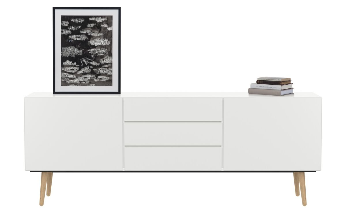 New designs - Lugano sideboard - White - Lacquered