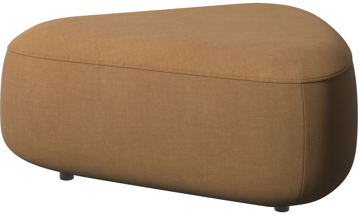 Modular sofas - Ottawa triangular pouf - Brown - Fabric