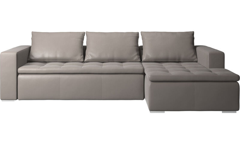 Fabulous Chaise Longue Sofas Mezzo Sofa With Resting Unit Boconcept Unemploymentrelief Wooden Chair Designs For Living Room Unemploymentrelieforg