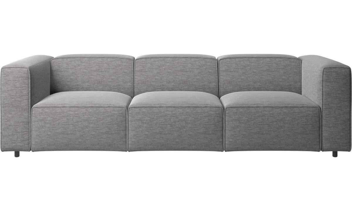Modular sofas - Carmo sofa - Grey - Fabric