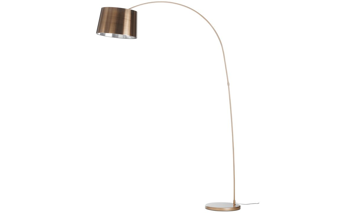 Lamps - Kuta floor lamp - Orange - Metal