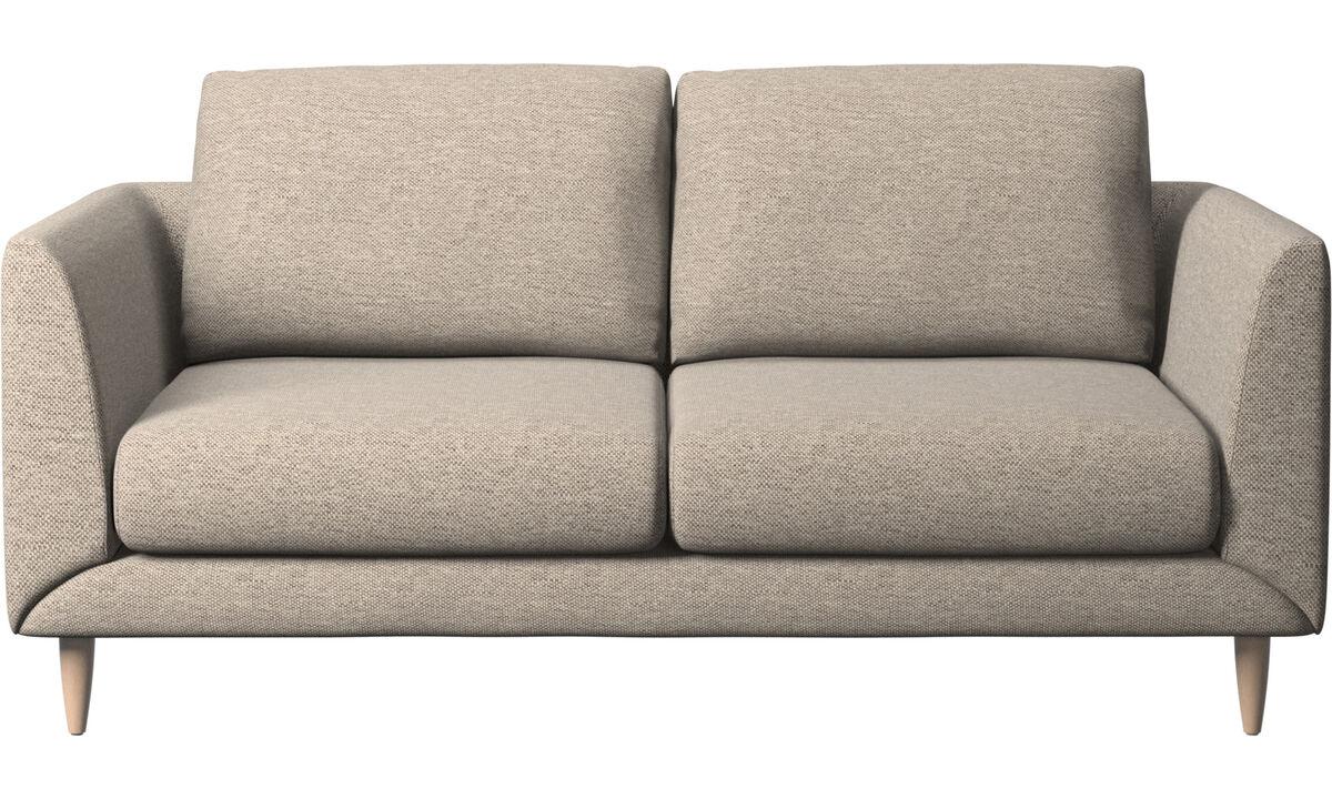 Двухместные диваны - Диван Fargo - Бежевого цвета - Tкань