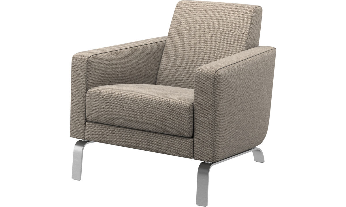 Armchairs - Fly chair - Beige - Fabric
