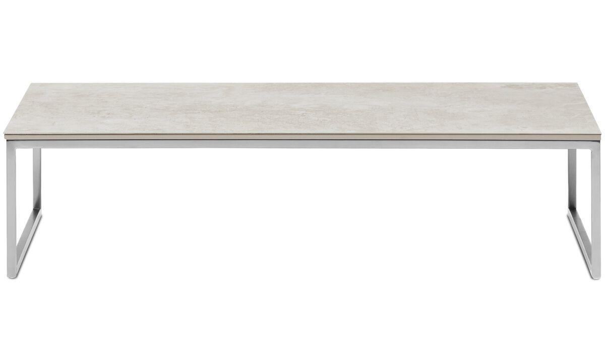 Coffee tables - Lugo coffee table - square - Grey - Ceramic