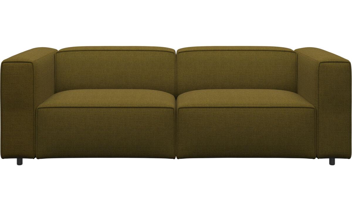 2½ personers sofaer - Carmo sofa - Gul - Stof