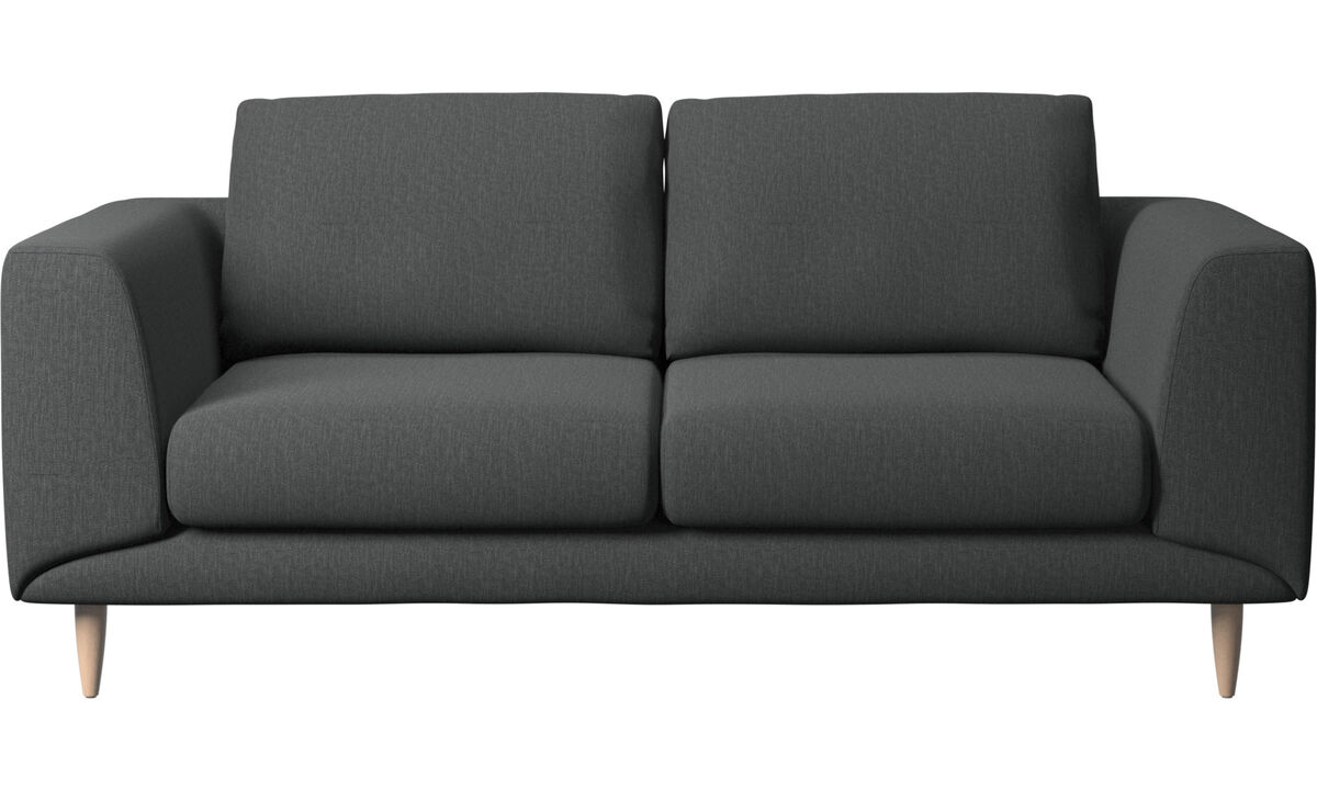 2 seater sofas - Fargo sofa - Grey - Fabric
