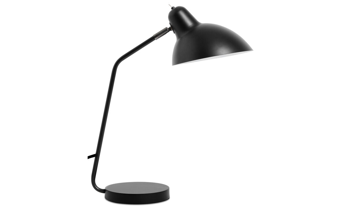 Lamps - Demand table lamp - Black - Metal
