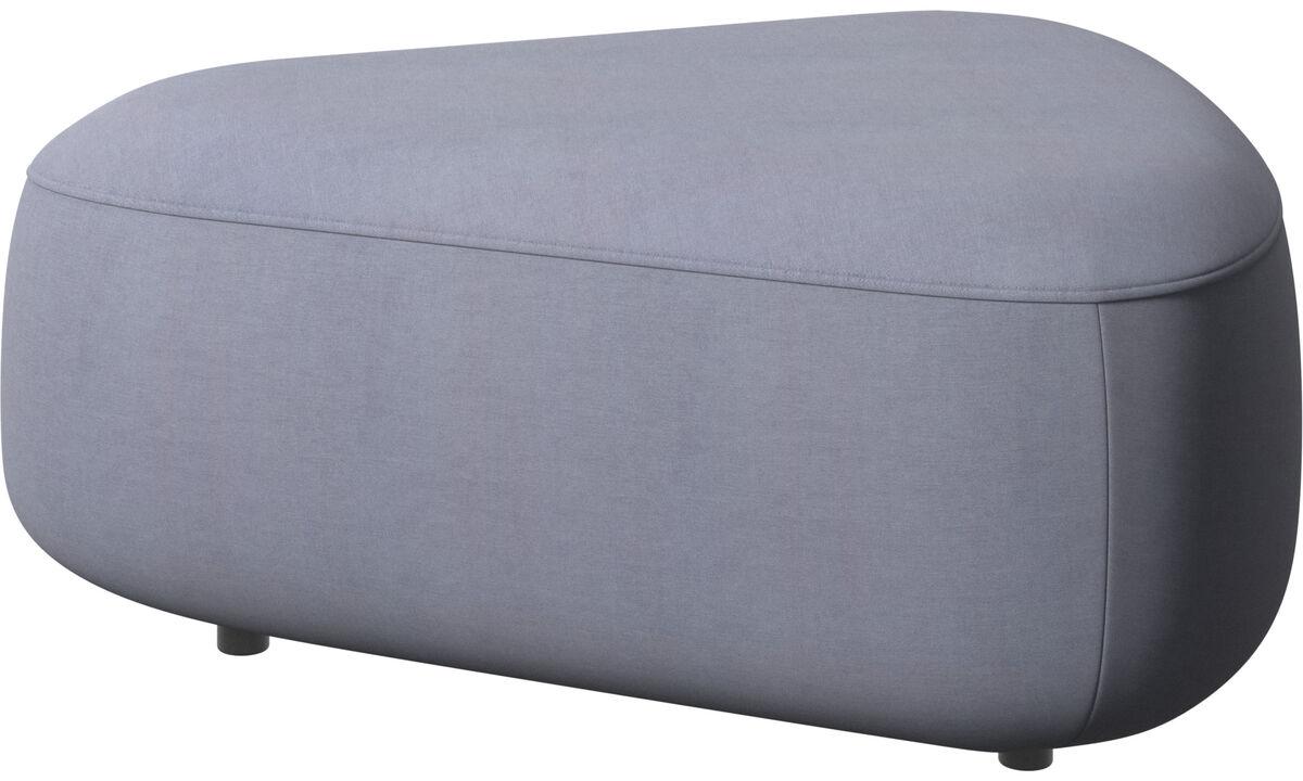 Modular sofas - Ottawa三角形椅垫 - 蓝色 - 布艺
