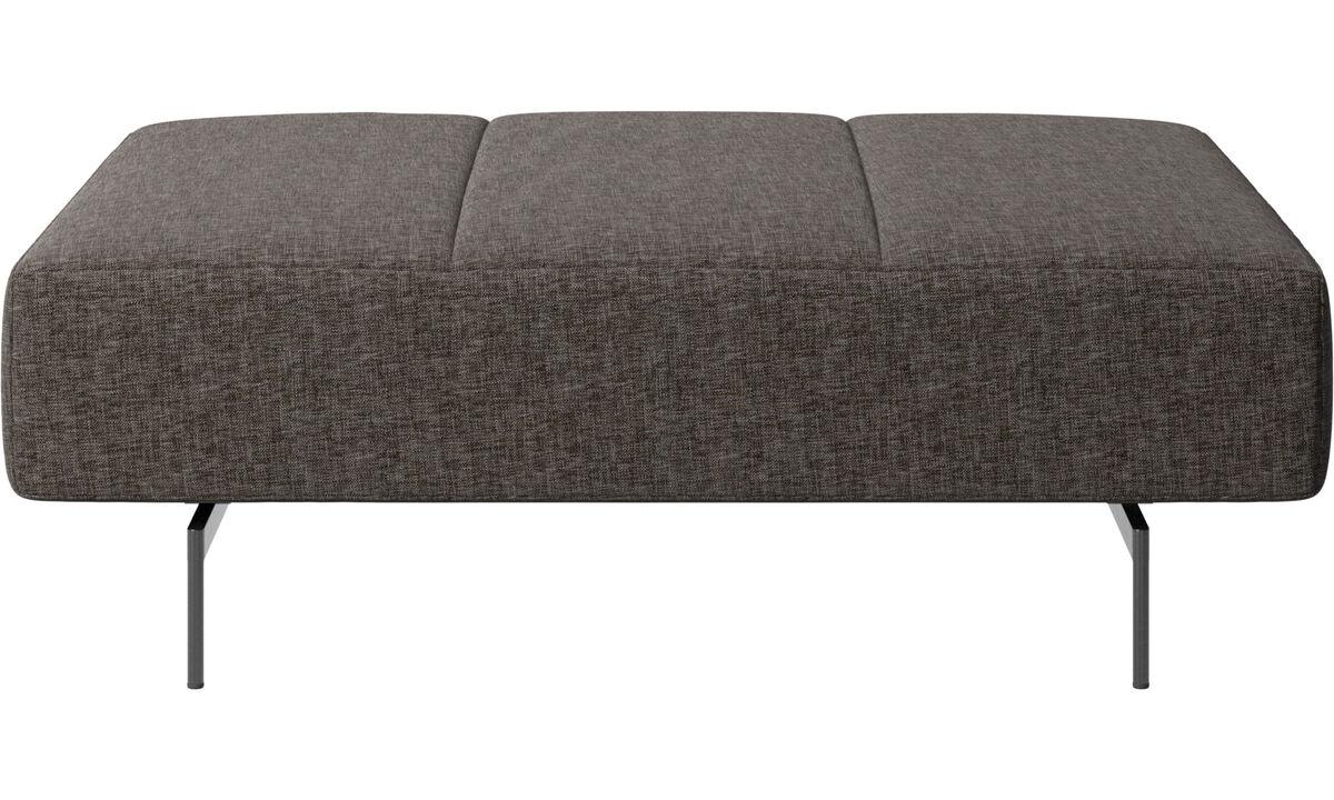 Footstools - Amsterdam footstool - Brown - Fabric