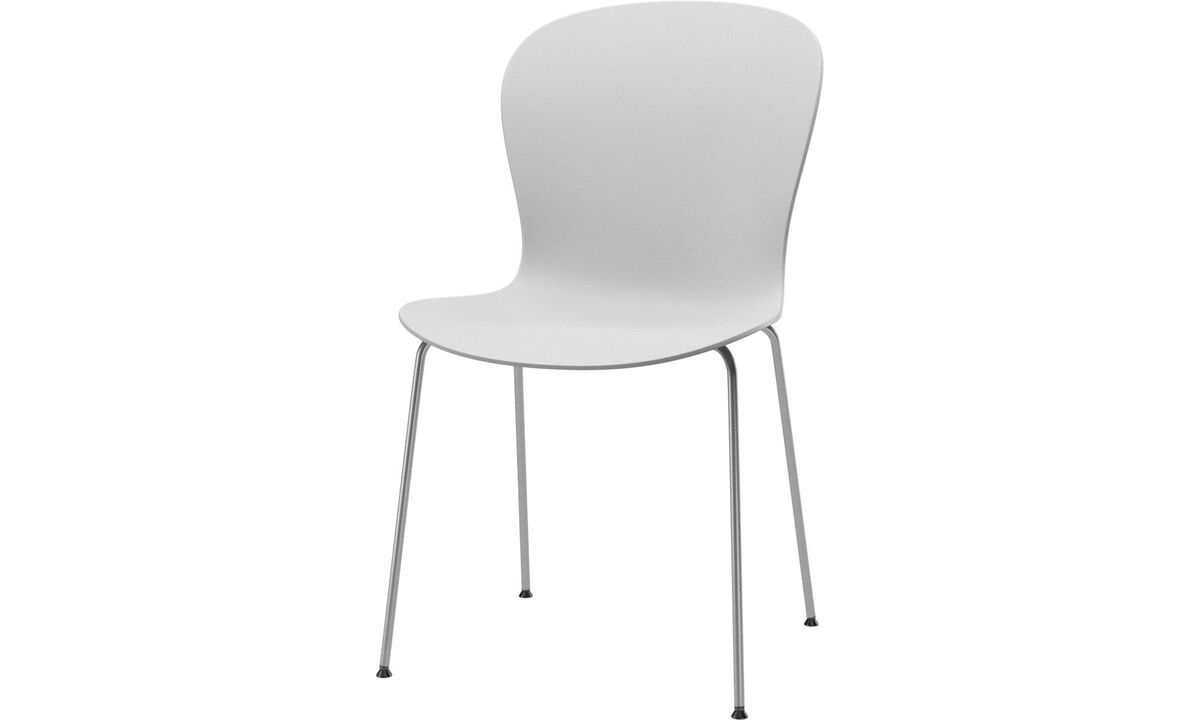 Design furniture in time for Christmas - Adelaide chair (for in and outdoor use) - White - Metal