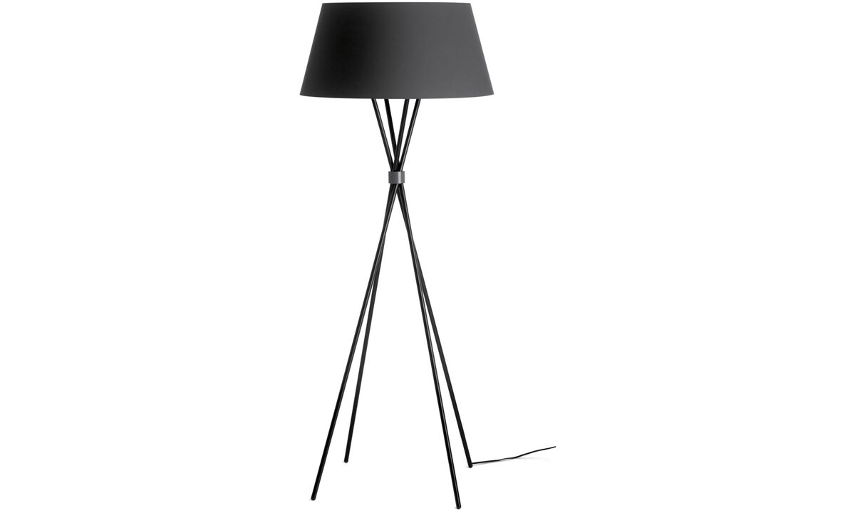 New designs - Main floor lamp - Black - Metal