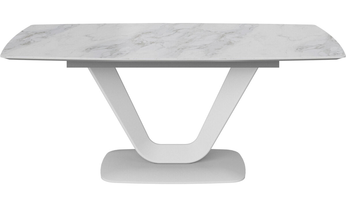 Dining tables - Alicante table - rectangular - White - Ceramic