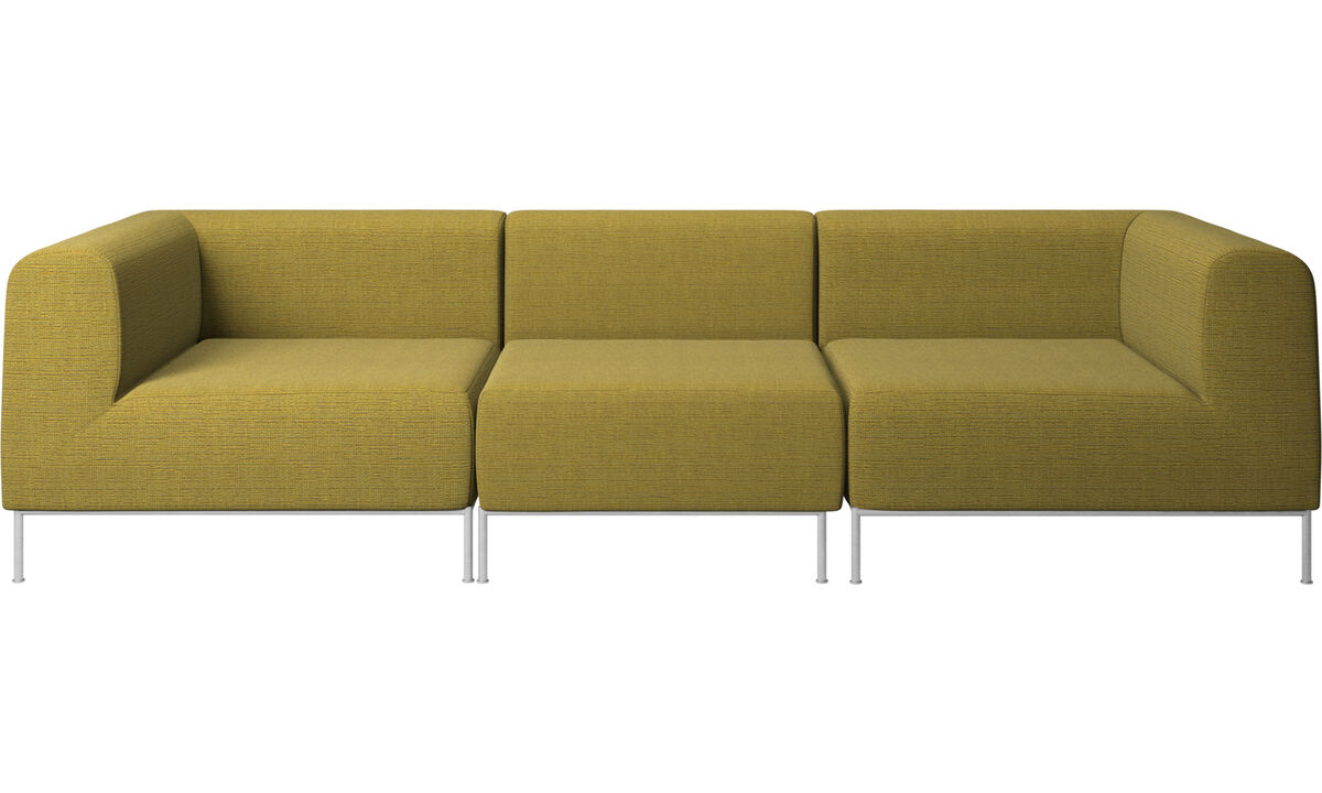 Modulære sofaer - Miami sofa - Gul - Stof