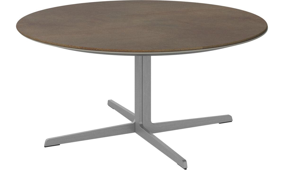 Coffee tables - Sevilla coffee table - round - Brown - Ceramic