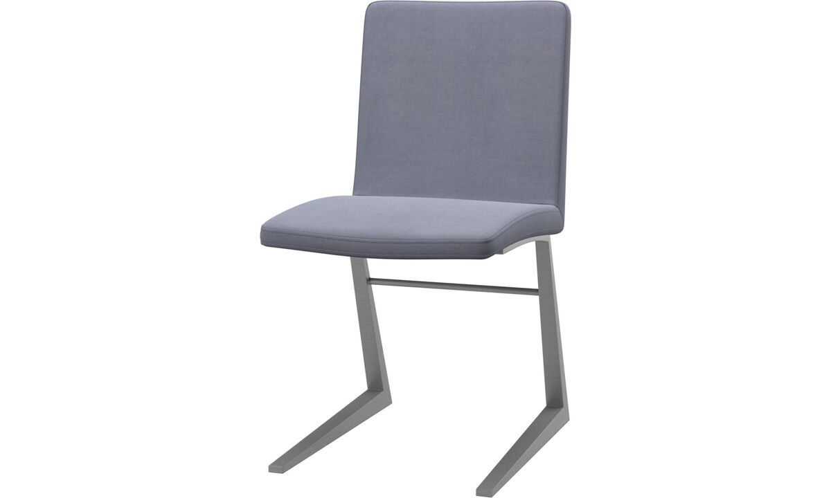 Dining chairs - Mariposa Deluxe chair - Blue - Fabric