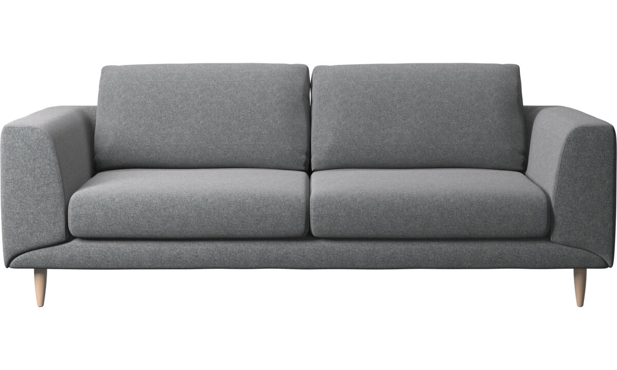 2.5 seater sofas - Fargo sofa - Gray - Fabric