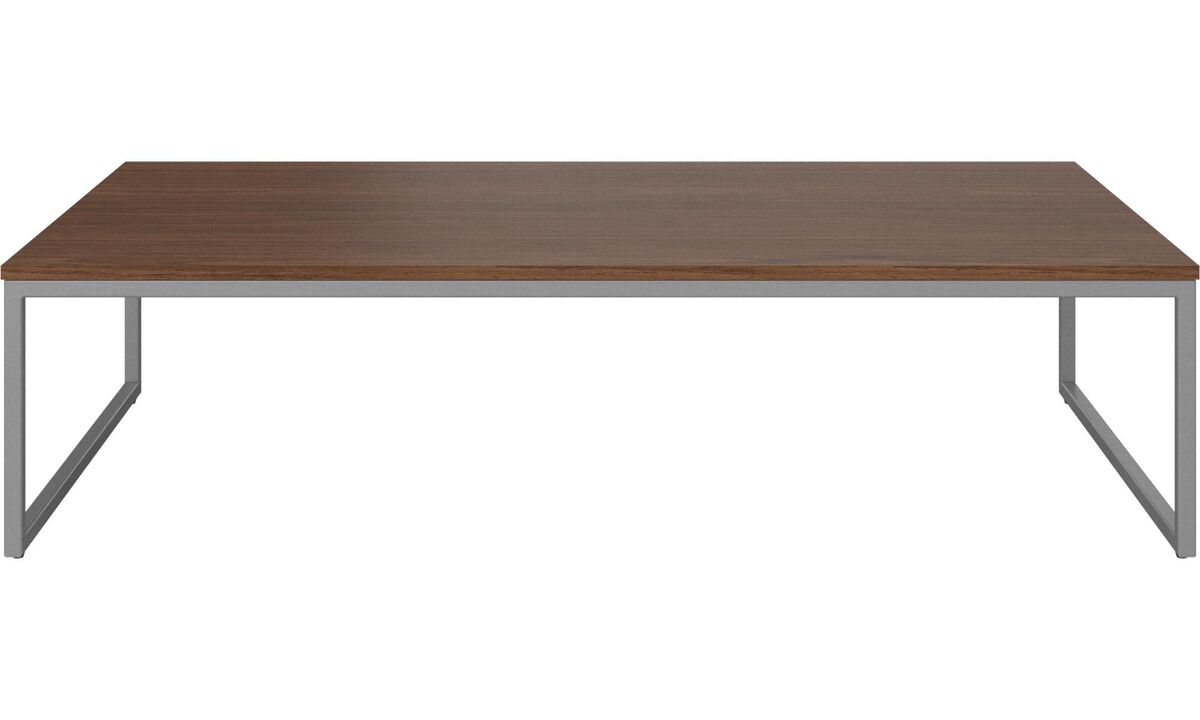 Tables basses - table basse Lugo - carré - Marron - Noyer