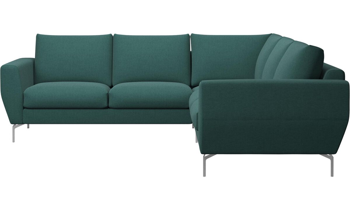 Sofas - Nice corner sofa - Green - Fabric