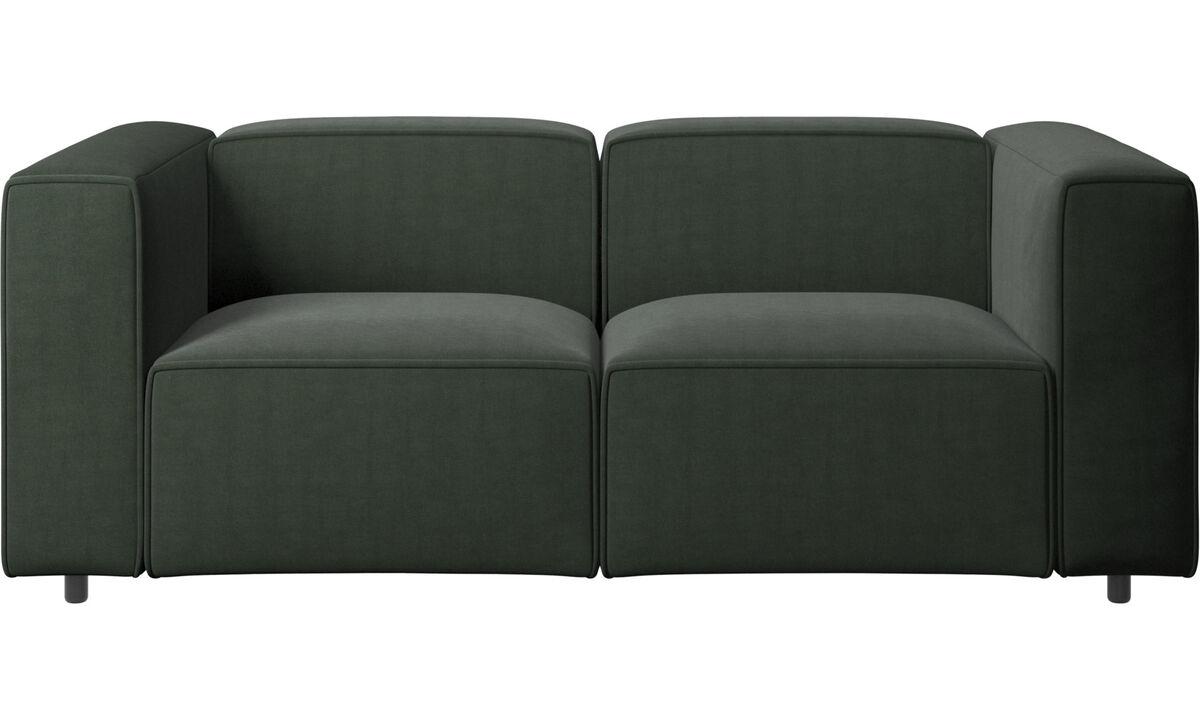 Sofás modulares - Sofá Carmo - En verde - Tela
