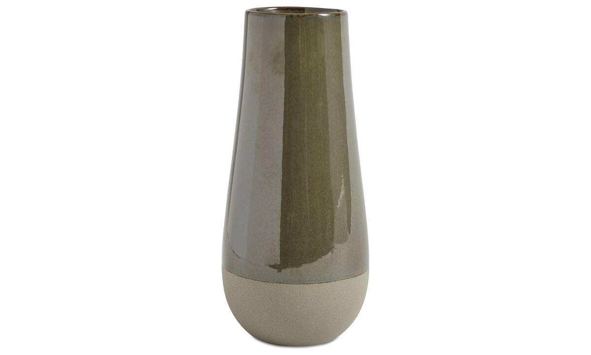 New designs - Wilma vase - Green - Ceramic