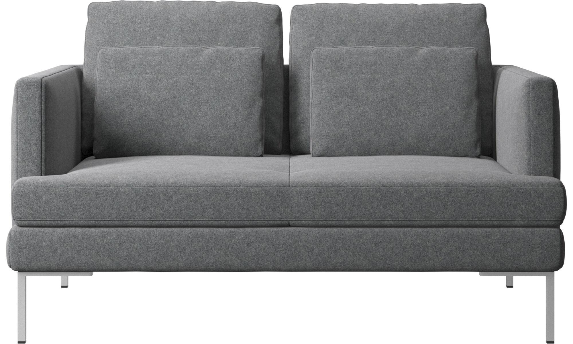 2 Sitzer Sofas   Istra 2 Sofa   Grau   Stoff ...