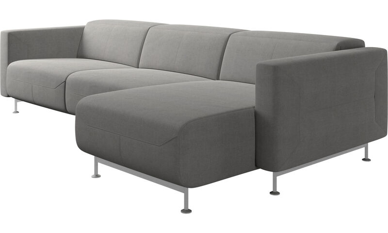 Parma reclining sofa with chaise lounge