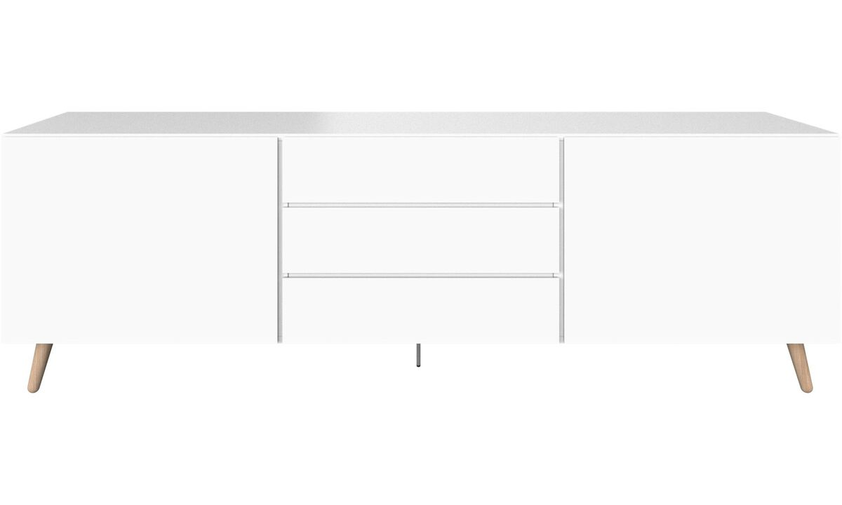 Sideboards - Lugano sideboard - White - Lacquered