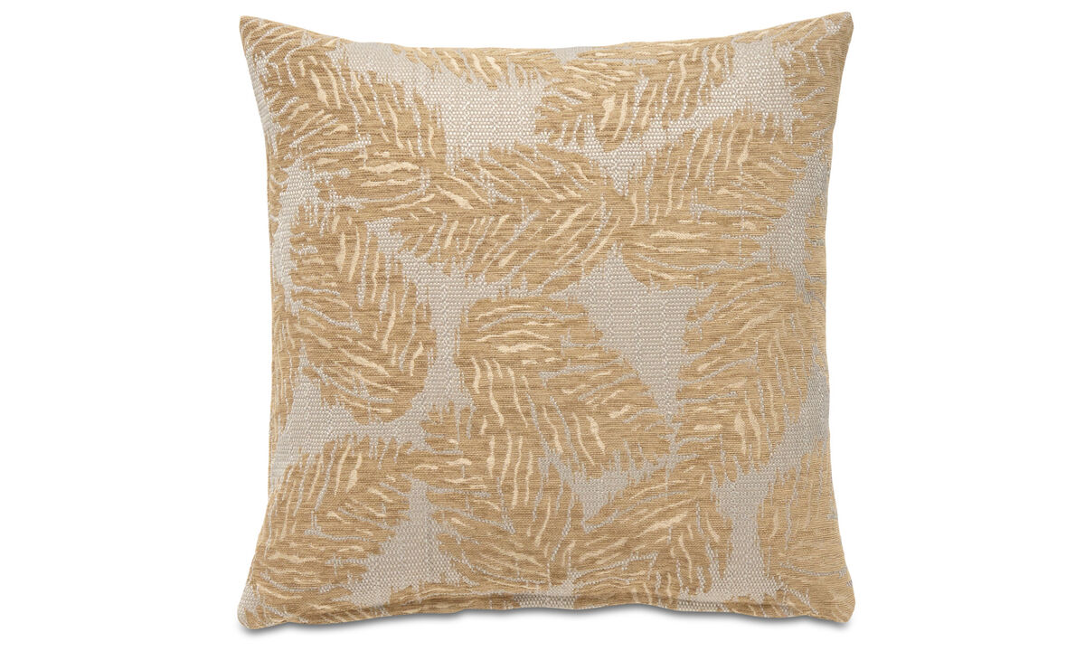 Patterned cushions - Oak cushion - Yellow - Fabric