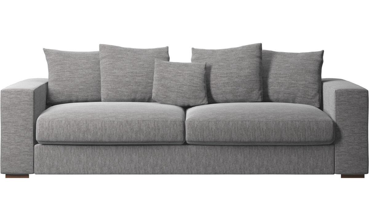 3 seater sofas - Cenova sofa - Grey - Fabric