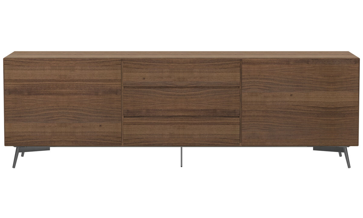 Offres Design - buffet Lugano - Marron - Noyer