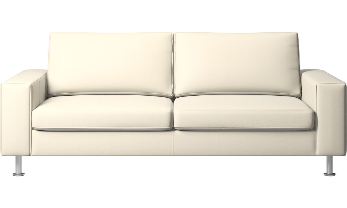 Sofa beds - Indivi sofa bed - White - Leather