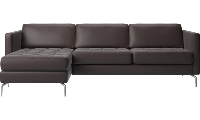 Chaise lounge sofas Osaka sofa with resting unit tufted seat