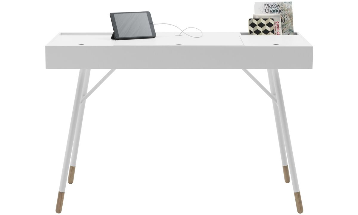New designs - Cupertino desk - square - White - Lacquered