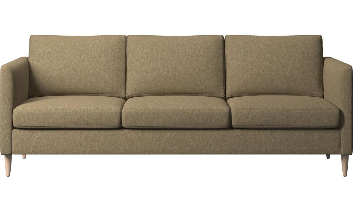 3 seater sofas - Indivi sofa - Green - Fabric