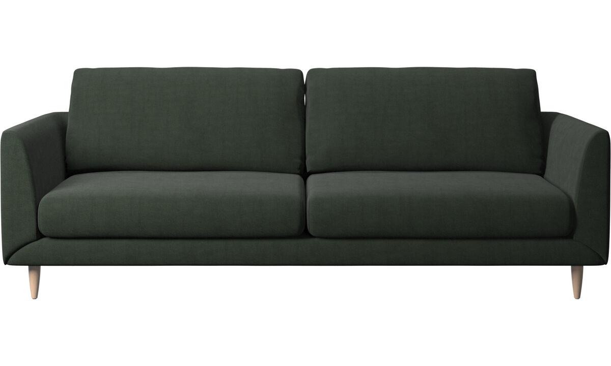 3 seater sofas - Fargo sofa - Green - Fabric