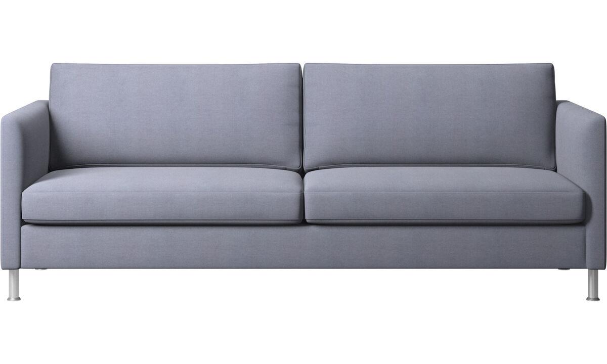3 seater sofas - Indivi sofa - Blue - Fabric